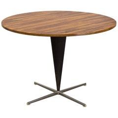 Verner Panton Large Rosewood Cone Table, for Frem Røjle, Denmark, 1957