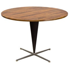 Verner Panton Large Rosewood Cone Table, for Frem Røjle, Denmark, 1957