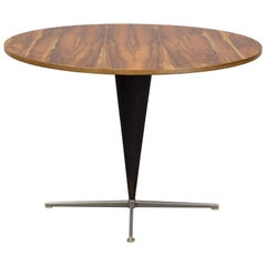 Verner Panton Large Rosewood Cone Table, for Frem Røjle, Denmark 1957