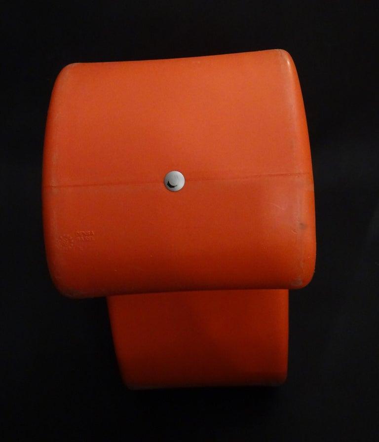 Verner Panton Orange Phantom Chair for Innovation Randers, circa 1998 For Sale 4