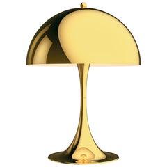 Verner Panton 'Panthella 320' Table Lamp in Brass for Louis Poulsen