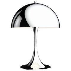 Verner Panton 'Panthella 320' Table Lamp in Chrome for Louis Poulsen