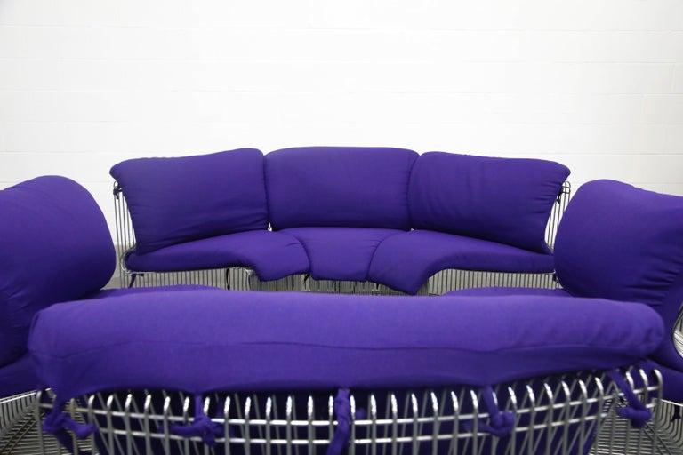 Verner Panton 'Pantonova' Six-Piece Living Room Suite for Fritz Hansen, 1971 For Sale 5