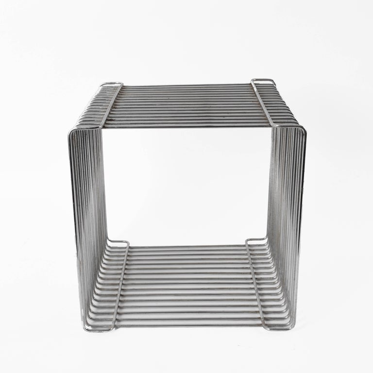 Mid-Century Modern Verner Panton Pantonova Wire Cube Per Fritz Hansen-Danish Montana Midcentury