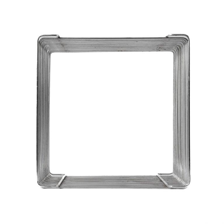 Verner Panton Pantonova Wire Cube Per Fritz Hansen-Danish Montana Midcentury In Fair Condition In Roma, IT