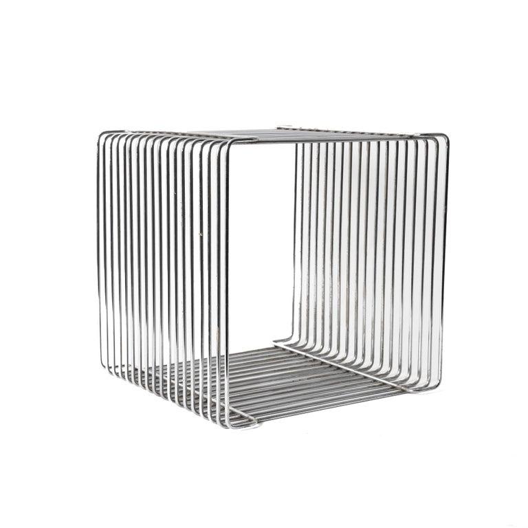 Late 20th Century Verner Panton Pantonova Wire Cube Per Fritz Hansen-Danish Montana Midcentury