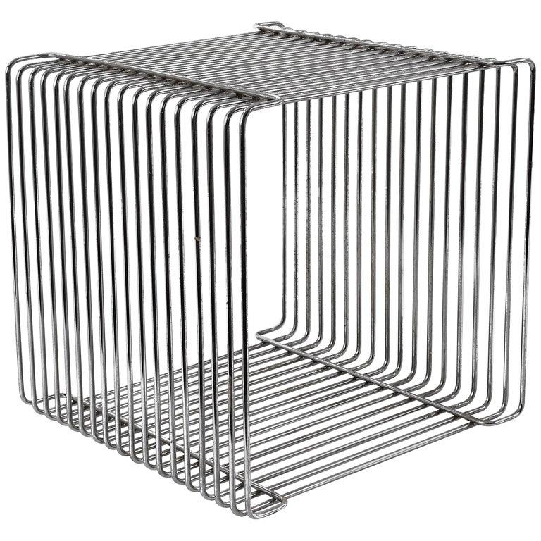 Verner Panton Pantonova Wire Cube Per Fritz Hansen-Danish Montana Midcentury
