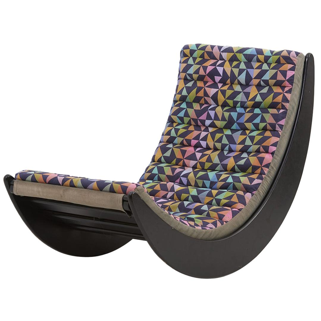 Verner Panton Relaxer 2 Rocking Chair by Rosenthal