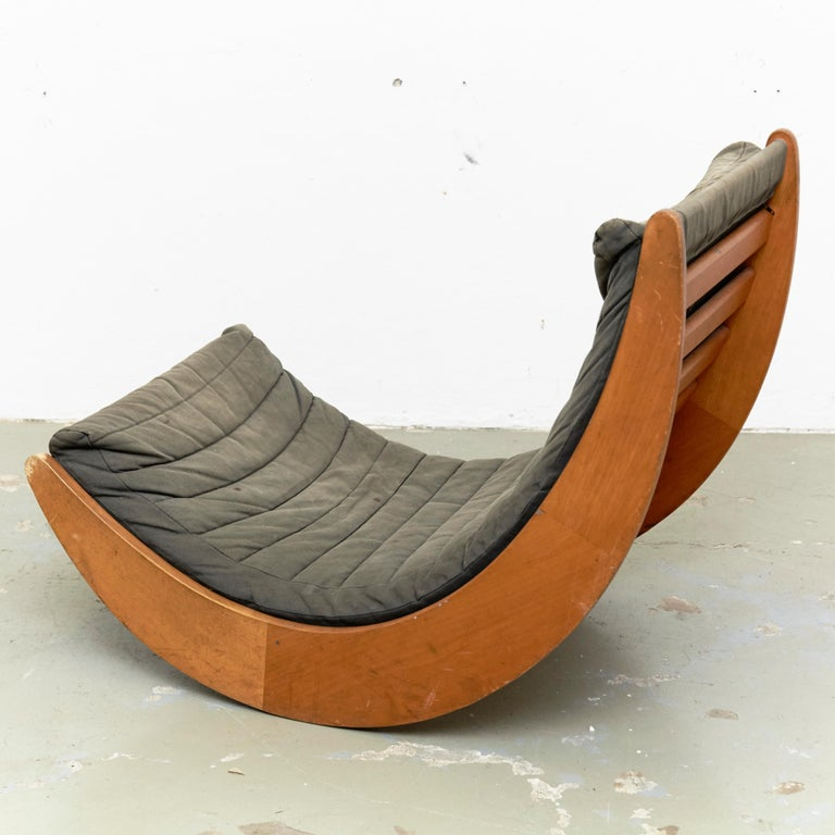 Mid-Century Modern Verner Panton Relaxer Chair for Rosenthal, circa 1970 For Sale