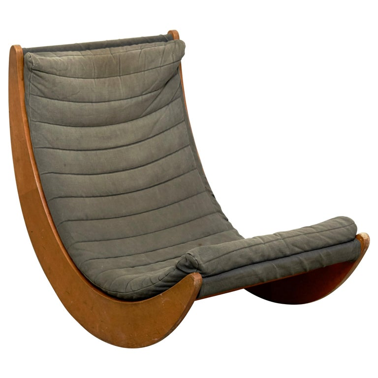 Verner Panton Relaxer Chair for Rosenthal, circa 1970 For Sale