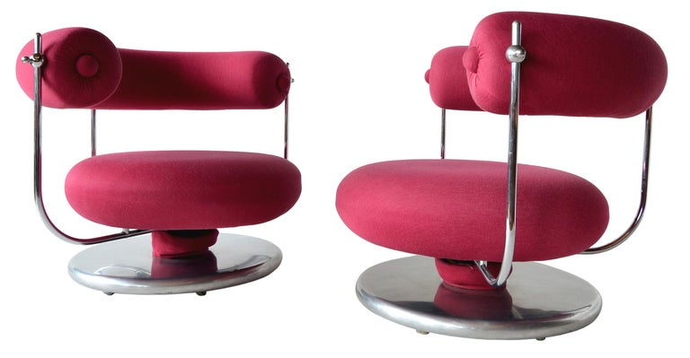 Verner Panton S401 Lounge Chairs For Sale 5