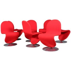 Verner Panton, Seven 1-2-3 System Chairs