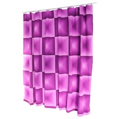 Verner Panton Two Curtain Panels, Tapestry, Fabric by Mira-X Collection, 1960s