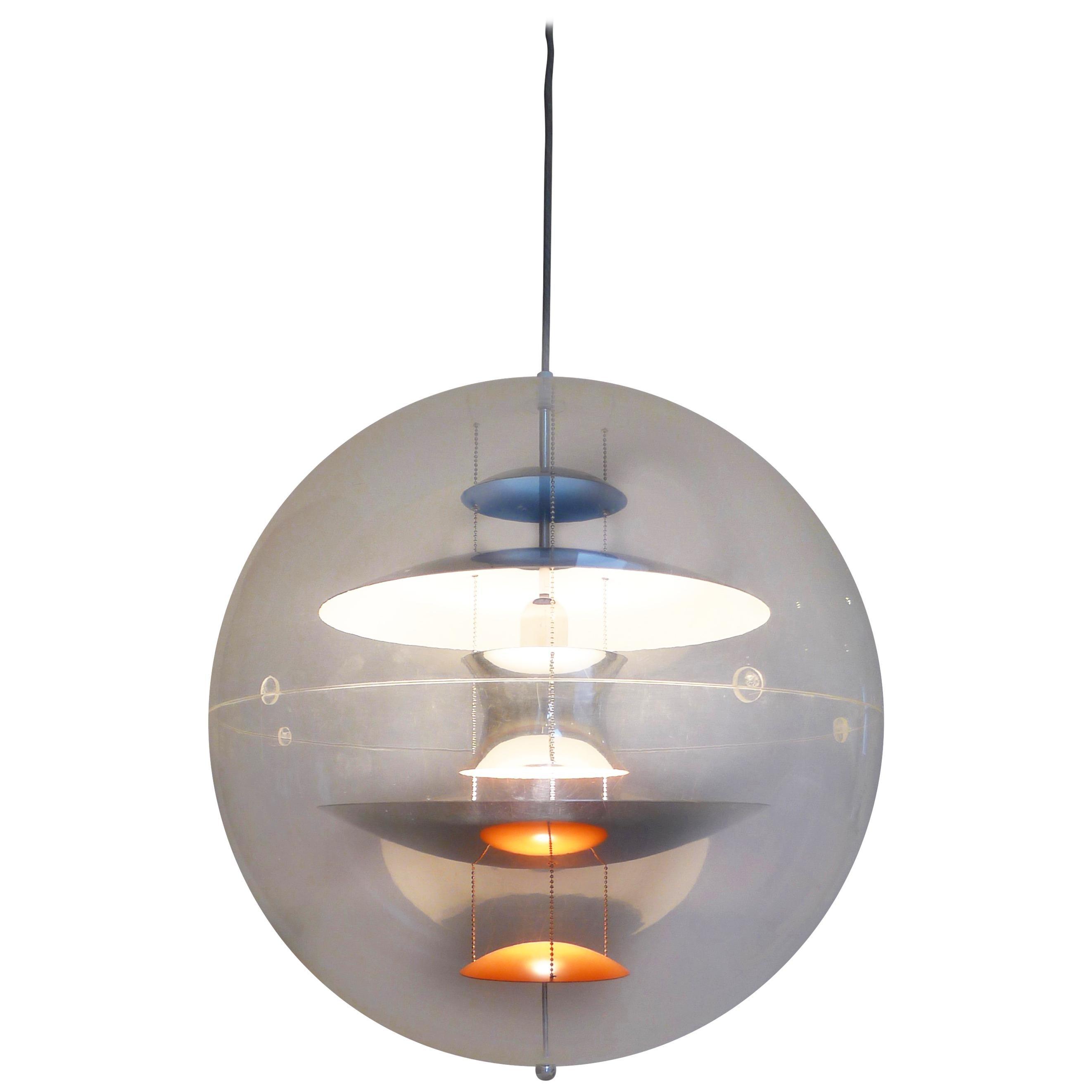 Verner panton lighting Design Danish Pinterest Verner Panton Lighting 118 For Sale At 1stdibs