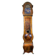 Vernis Martin Style Grandfather Clock