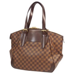 VeronaGM  Womens  shoulder bag N41119  Damier ebene