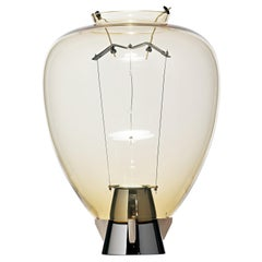 Veronese 6536 Table Lamp in Glass & Brass, by Umberto Riva from Barovier&Toso
