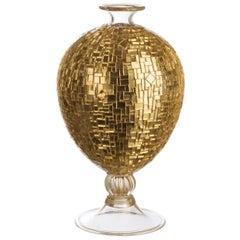 Veronese Gold Vase