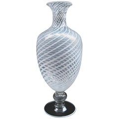 """Veronese"" Venini Art Glass Vase by Vittorio Zecchin"