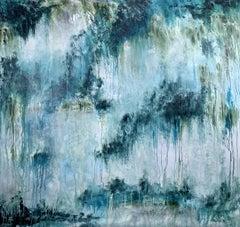 78''X75''(200X190CM), THE SACRED LAND, Painting, Acrylic on Canvas