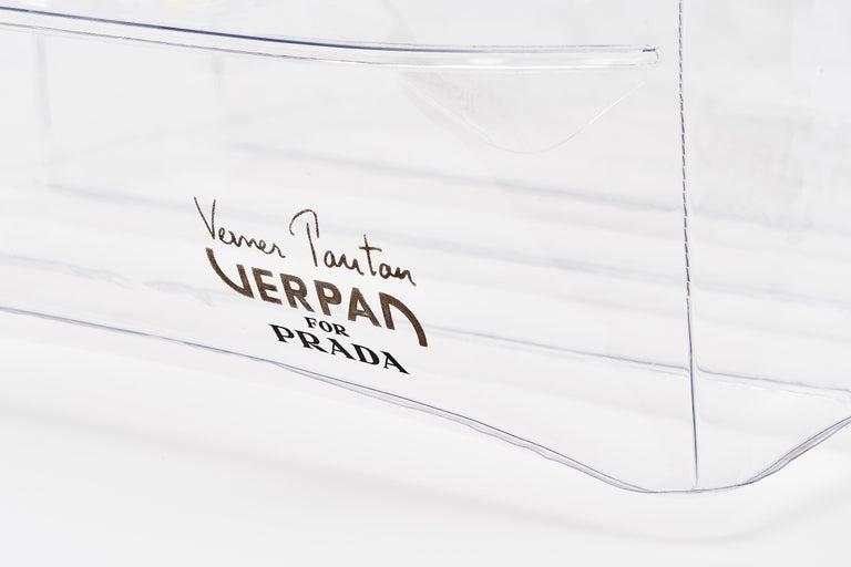 Danish Verpan for Prada Inflatable Stool For Sale