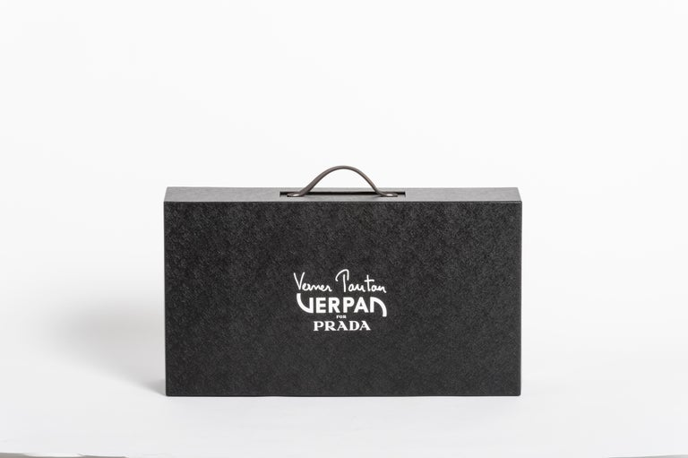 Verpan for Prada Inflatable Stool In New Condition For Sale In Horsens, DK