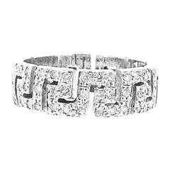 Versace 18 Karat Diamond Band Ring