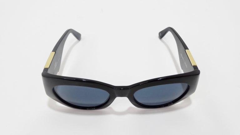 Versace 1980s Medusa Sunglasses  In Good Condition For Sale In Scottsdale, AZ