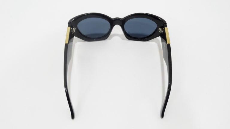 Versace 1980s Medusa Sunglasses  For Sale 1