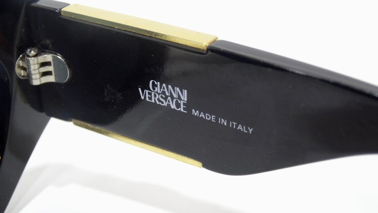 Versace 1980s Medusa Sunglasses  For Sale 2
