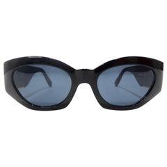 Versace 1980s Medusa Sunglasses