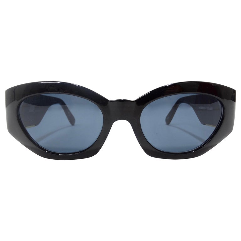 Versace 1980s Medusa Sunglasses  For Sale