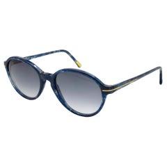 Versace blue vintage sunglasses 80s