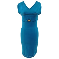Versace Collecction Blue Dress NWOT