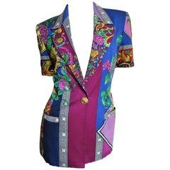 Versace Color Block Jacket