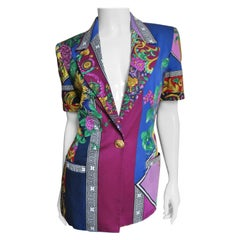 Versace Color Block Jacket