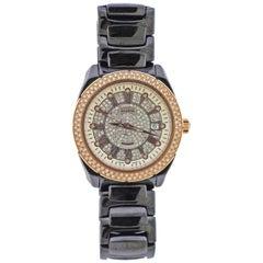 Versace Diamond Ceramic Rose Gold Watch A126122