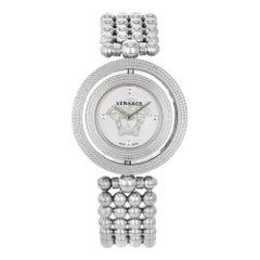 Versace Eon Mother of Pearl Medusa Dial Steel Quartz Ladies Watch V7903 0014