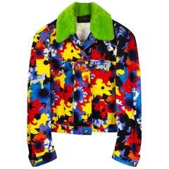 Versace Floral Paratrooper Jacket for Men