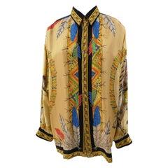 Versace Indian Silk Shirt