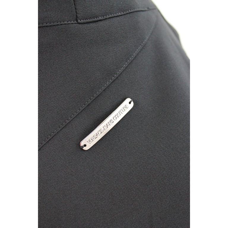Versace Jeans Couture Black Sheath Dress Evening Black For Sale 1