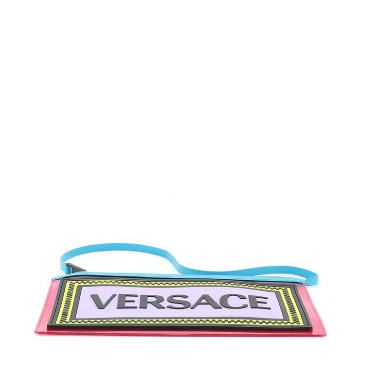 Versace Logo Clutch PVC For Sale 1