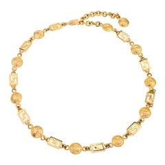 Versace Medusa and Greca Chain belt / Necklace