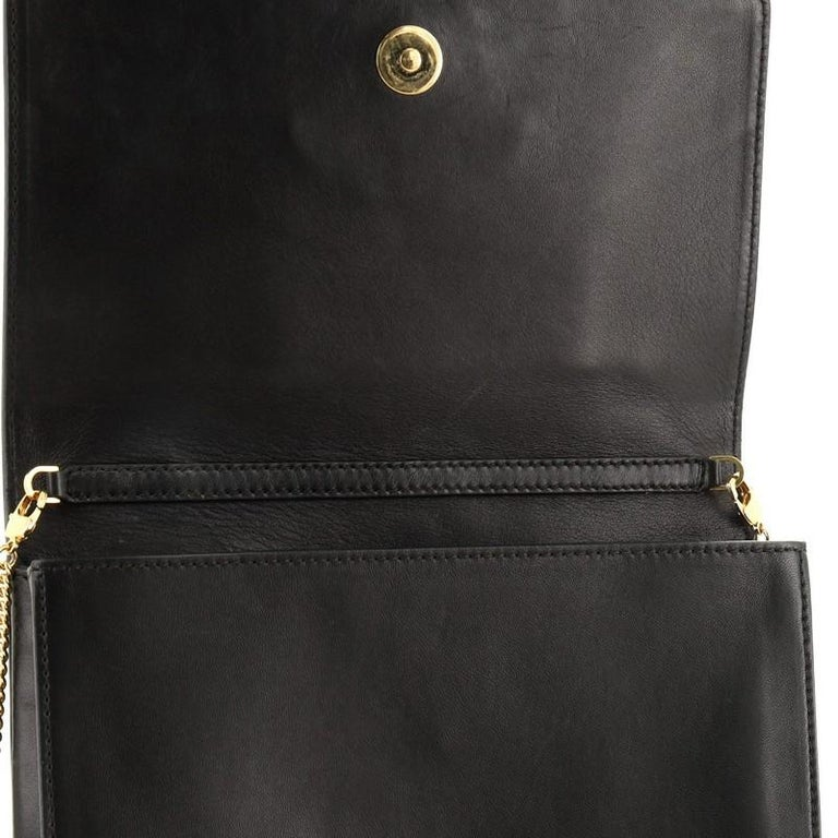 Versace Medusa Chain Clutch Leather Small 2
