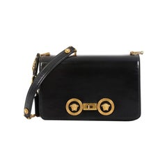 Versace Medusa Padlock Icon Flap Bag Leather Medium