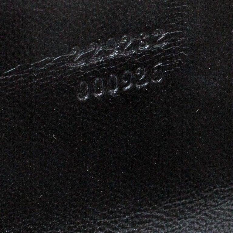 Versace Multicolor Suede and Patent Leather Lazer Cut Satchel For Sale 2