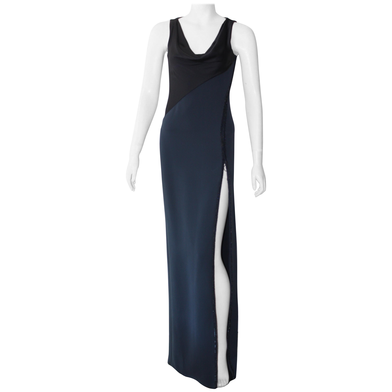 Versace Navy Dress