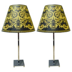 Versace, Pair of Lamps