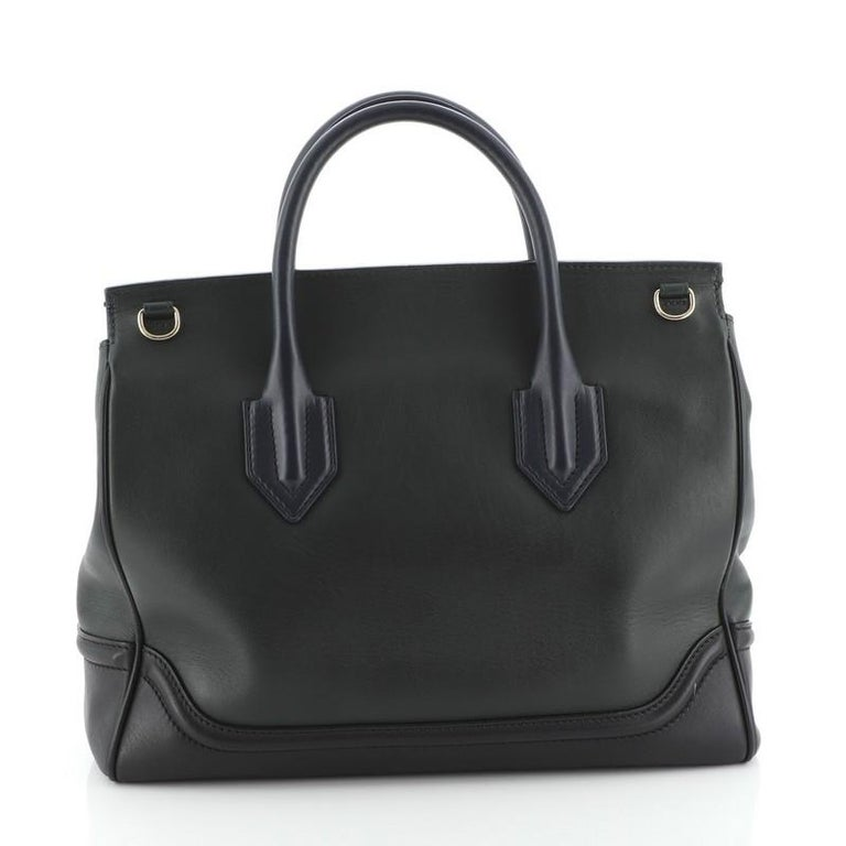 Black Versace  Palazzo Empire Bag Leather Large