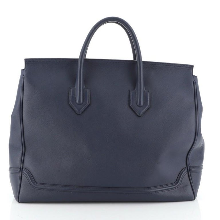 Versace Palazzo Empire Bag Leather XL In Good Condition For Sale In New York, NY